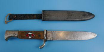 German Nazi Hitler Youth Knife