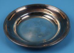 Hallmarked silver dish - Approx weight: 258g