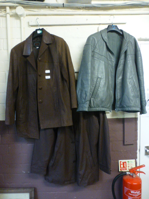 Lot 9 - Three leather jackets