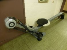 A rowing machine