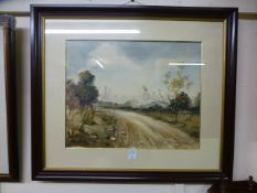 A framed and glazed Spanish water colour