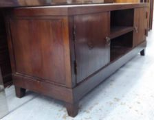 MEDIA SIDEBOARD, Chinese export style, 162cm W.