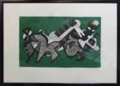UMBERTO MASTROIANNI (Italian 1910-1998), a pair of engravings, signed,