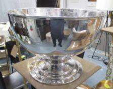 RALPH LAUREN STYLE CHAMPAGNE BUCKET, plated finish, 47cm Diam x 32cm H.