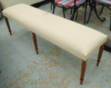 HALL SEAT, English country house style, 150cm x 40cm x 50cm.