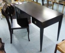 VANITY SUIT, contemporary design, two drawers includes table 119cm x 60cm x 76cmand chair.