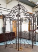 ARCHITECTURAL GARDEN PERGOLA, in the French provincial style, 320cm x 270cm x 270cm.