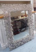 BEST AND LLOYD NARNIA MIRROR BY ANTHONY CRITCHLOW, signed and dated, 95cm x 120cm H.