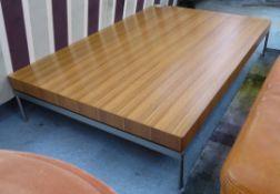 FRIGHETTO HOPPI LOW TABLE,124.5cm x 84.5cm x 25.5cm.