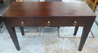 LOMBOK SEBA CONSOLE TABLE, Indonesian teak, 120cm x 45cm x 80cm.