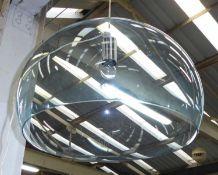 KARTELL FLY PENDANT LIGHT, by Ferruccio Laviani, 100cm drop.