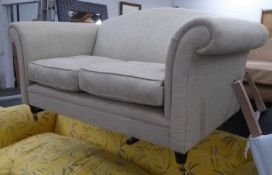 SOFA, in the country house style, slight proportions, 164cm W.