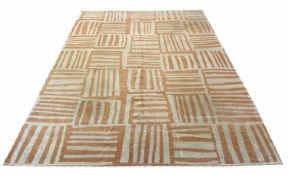 CONTEMPORARY CARPET, 320cm x 230cm, hand knotted wool. (requires cleaning)