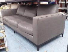 SOFA AND CHAIR COMPANY SOFA, 240cm W approx. (with faults)