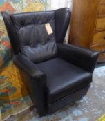 HK FURNITURE ARMCHAIR, by Howard Keith, vintage 1960's English, 78cm W. (slight faults)