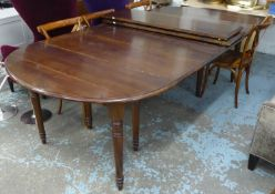 OKA PETWORTH DINING TABLE, extendable, 350cm x 135cm x 80cm approx fully extended.