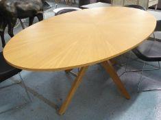 DINING TABLE, contemporary design, 190cm x 111cm x 75cm.