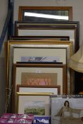 QUANTITY FRAMED PICTURES
