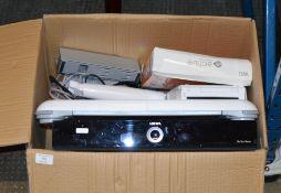 BOX WITH DIGI BOX, NINTENDO Wii ETC