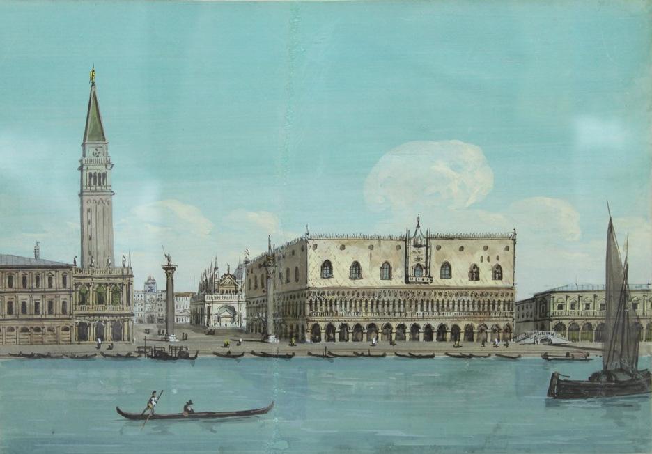 Lot 12 - Carlo Grubacs (attivo a Venezia tra il 1840 e il 1870) - Active in Venice 1840-1870