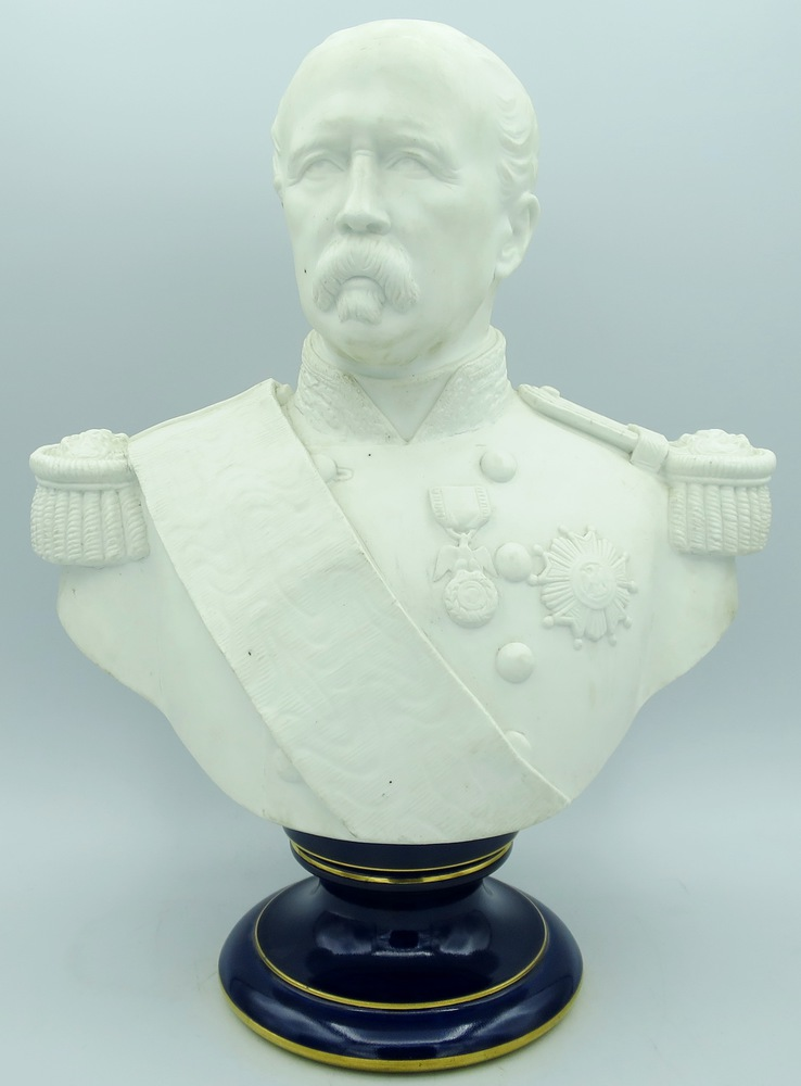 Lot 1 - Manifattura di Sevres - A Sevres biscuit bust
