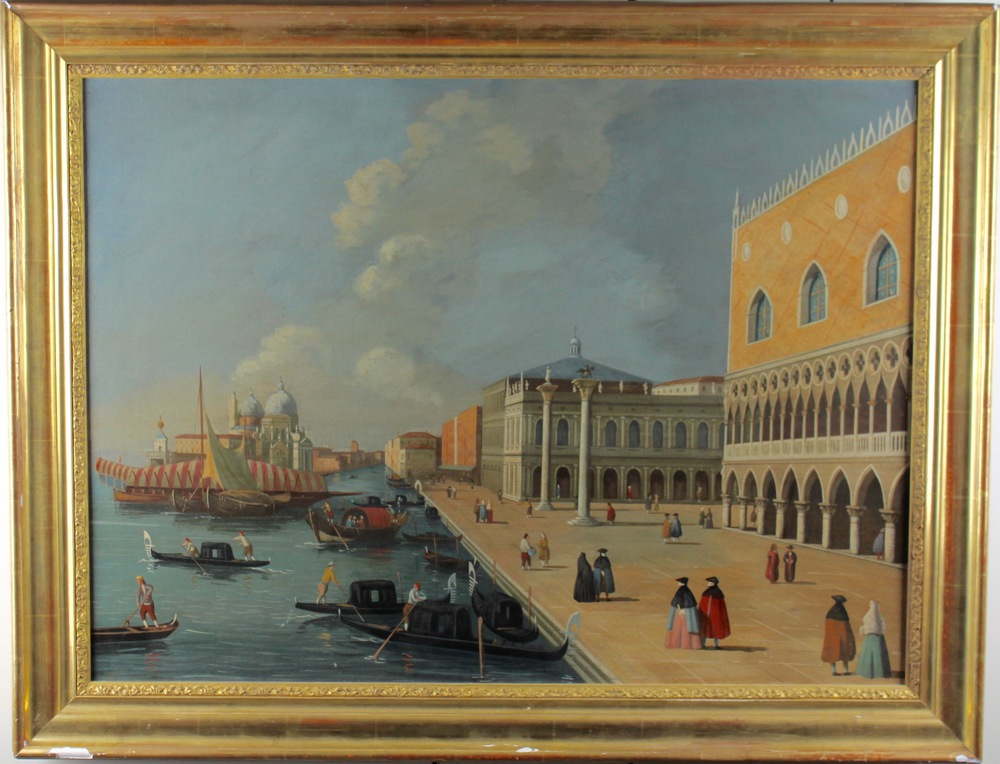 Lot 42 - Scuola Veneziana del XIX secolo - Venetian School of the 19th century