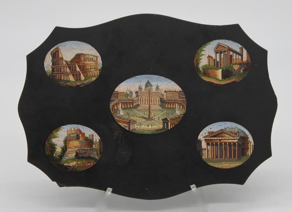 Lot 9 - Manifattura Romana del XIX secolo - Roman manufacture of the 19th century