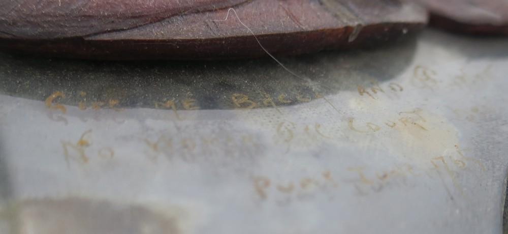 Lot 8 - Coppia di bassorilievi in cera - A pair of wax bas-reliefs