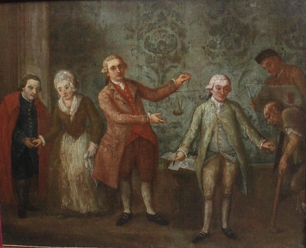 Lot 21 - Pietro Falca detto Pietro Longhi (Venezia 1701-1785)