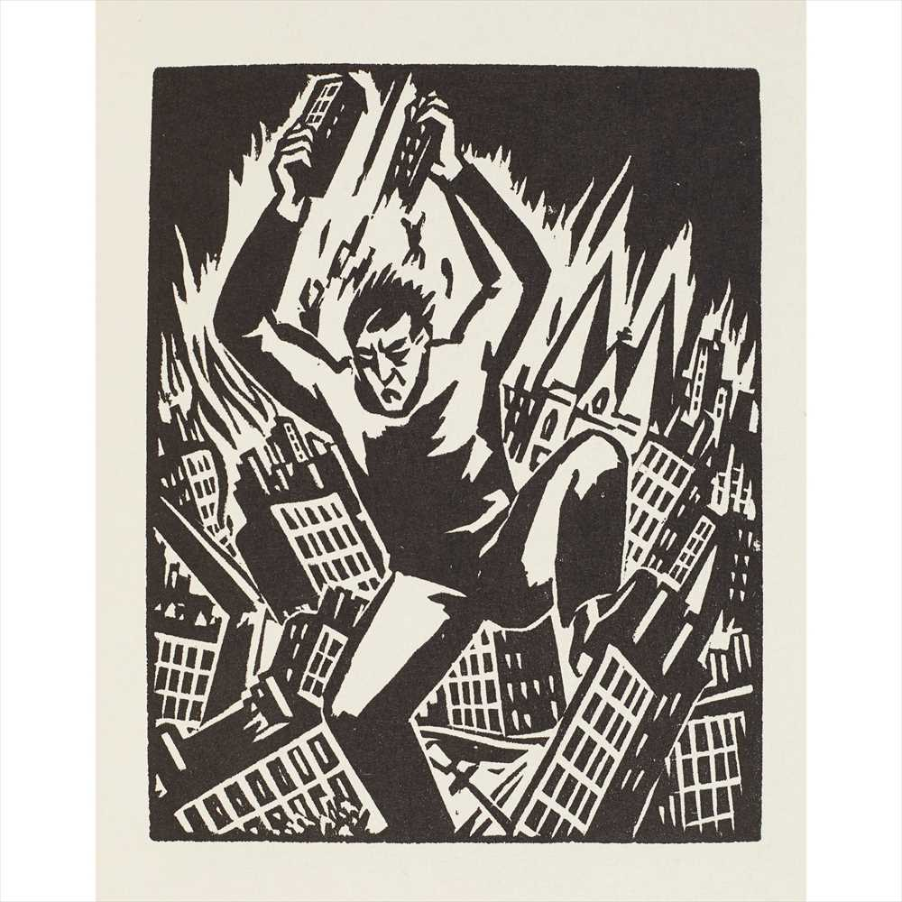 Lot 424 - Masereel, Frans A collection of books illustrated by Masereel, comprising