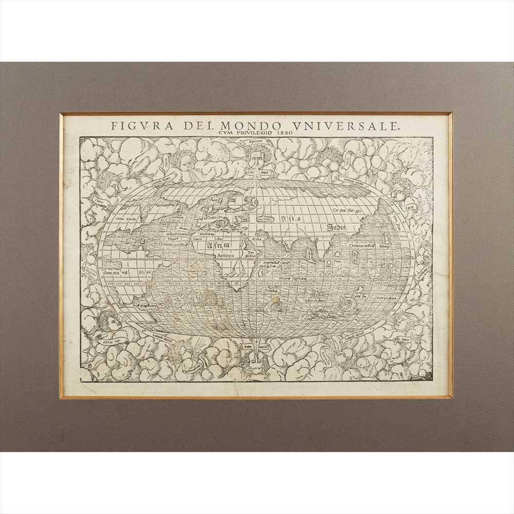 Lot 38 - Münster, Sebastian Three maps and prints