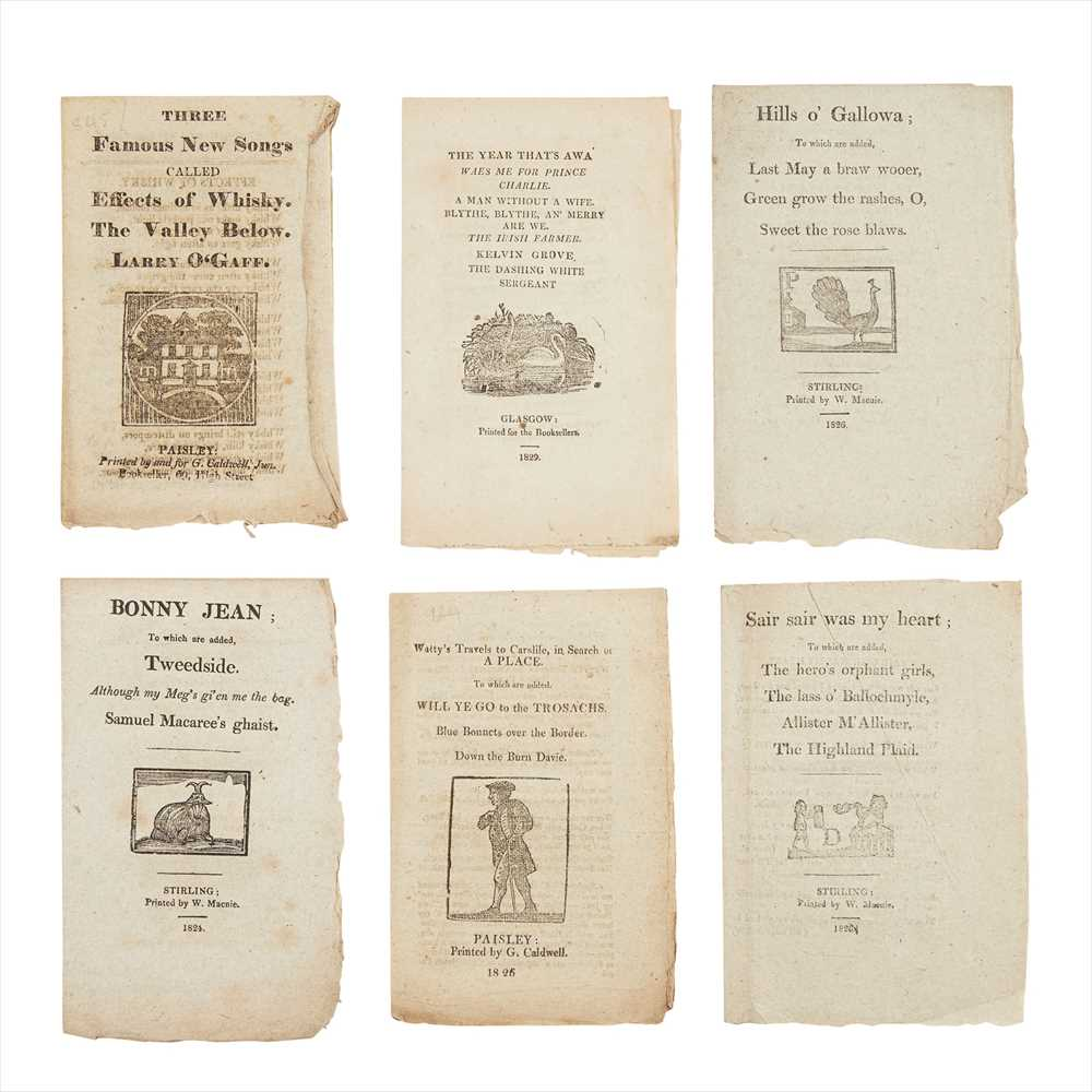 Lot 113 - Chapbooks, Scottish Comprising: