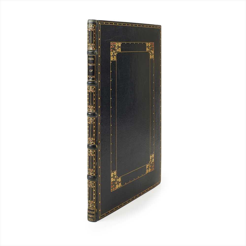 Lot 410 - Essex House Press. Binding by Douglas Cockerel Erasmus, Desiderius