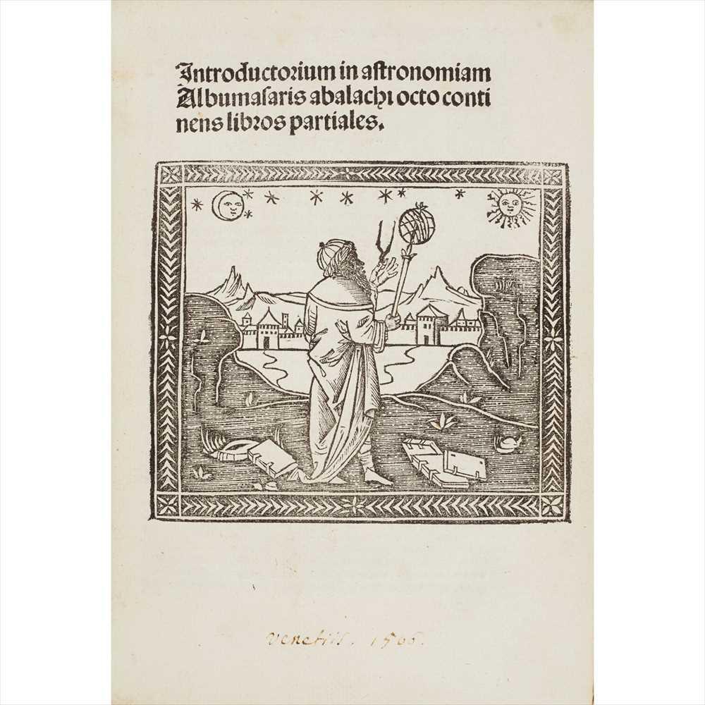 Lot 450 - Abumasar Introductorium in astronomiam Albumasaris abalachi octo continens libros partiales