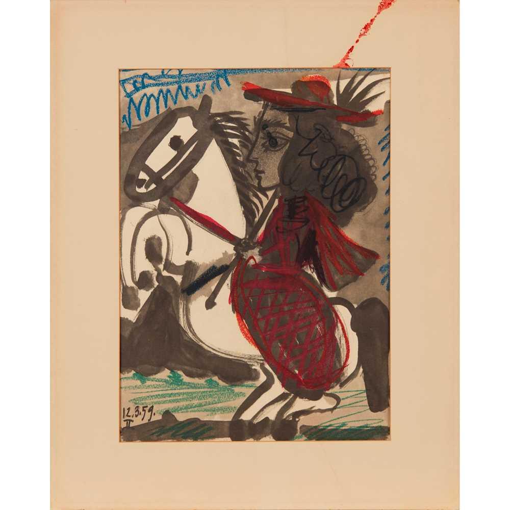 § PABLO PICASSO (SPANISH 1881-1973) TOROS Y TOREROS