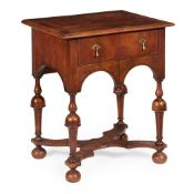 QUEEN ANNE WALNUT SIDE TABLE EARLY 18TH CENTURY