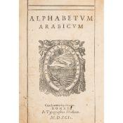 Alphabetum Arabicum Rome, 1592