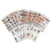 Napoleon Bonaparte A collection of commemorative materials including prints and cigarette cards