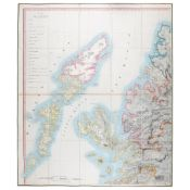 Arrowmith, Aaron Map of Scotland, constructed from Original Material obtained under