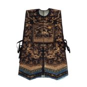 XIAPEI LADIES COURT EMBROIDERED WAISTCOAT QING DYNASTY, 19TH CENTURY