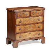 GEORGE I STYLE WALNUT BACHELOR'S CHEST EARLY 20TH CENTURY