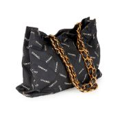 A stitch tote bag, Chanel