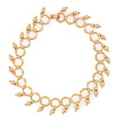 An 18ct gold bracelet, Tiffany & Co