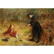 JOHN PETTIE R.A., H.R.S.A. (SCOTTISH 1839-1893) THE TRUANT