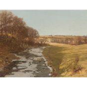 GEORGE HOUSTON R.S.A, R.S.W., R.G.I (SCOTTISH 1869-1947) ON THE CAAF WATER