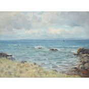 Joseph Morris Henderson (Scottish 1863-1936) ON THE AYRSHIRE COAST