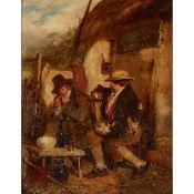 ERSKINE NICOL R.S.A., A.R.A. (IRISH 1825-1904) 'SPERRITS AND TIBBAKY'