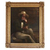 SIR JOHN WATSON-GORDON (SCOTTISH 1788-1864) PORTRAIT OF ALEXANDER ALEXANDER