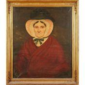 JACOBITE INTEREST: 19TH CENTURY BRITISH SCHOOL PORTRAIT OF MRS MACDONALD, AGED 102
