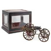 VICTORIAN ELECTRIC MODEL OF A ROAD LOCOMOTIVE LATE 19TH CENTURY